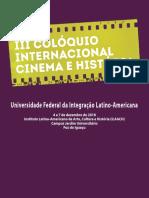 III COLÓQUIO INTERNACIONAL CINEMA E HISTÓRIA