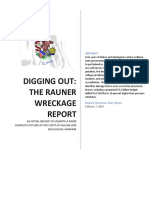 Digging Out - The Rauner Wreckage Report