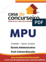 Apostila MPU Direito Administrativo