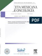 Consenso Nacional de Cancer Cervicouterino
