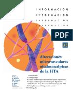 Alteraciones Microvasculares Oftalmoscopicas en La HTA