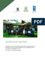 Naivasha Workshop Report