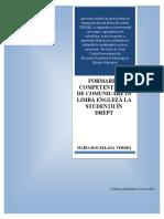 Rocselana Maria Verdeș, FORMAREA COMPETENȚELOR DE COMUNICARE ÎN LIMBA ENGLEZĂ LA STUDENȚII ÎN DREPT