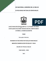 CARACTERIZACIÓN EDAFOCLIMATICAS Y ALTITUDINAL DE ZONAS CAFETALERAS APLICANDO TECNICAS  SIG EN LA MICROCUENCA POTRERILLO, REGION  SAN MARTIN 2014.pdf