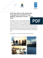2016 EGP Annual Global Workshop Report