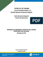Planeamiento Operativo 2011 i Semestre
