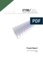 Hasil Report Etabs