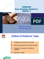 OMD6046 Case Analsyis--Handover ISSUE1.1