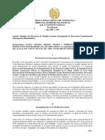 TSJ en el exilio autoriza coalición militar internacional en misión de paz para lograr la ayuda humanitaria