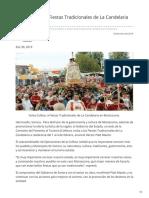 30-01-2019 - Invita Cofetur a Fiestas Tradicionales de La Candelaria en Moctezuma - Opinionsonora.com