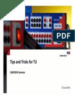 Tips&Tricks CMC