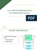 Characterization of Comonational Logic