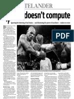 Rick Telander Feb. 14, 2011, Chicago Sun-Times column