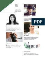 Personajes Mas Emprendedores de Guatemala