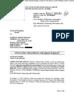 Danielle Redlick Arrest Affidavit
