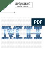 imagesinshapes textincharacter