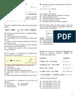 Cecom Quimica 3º Ano a 2ª Aval Escrita 4º Bim