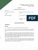 Justice McMahon's sentencing decision for serial killer Bruce McArthur