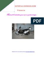 Manuel Scooter 50cc 4t