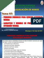 Clase 07_Garantias y Promocion Minera