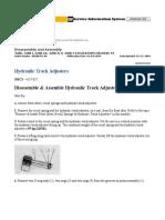 Hydraulic Track Adjusters