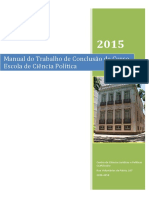 Manual TCC Ciência Política Versão 2015-2