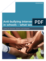 Antibullying Interventions