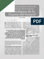 ¿Paradigma de la guerra del futuro?
