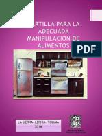 Manual para el manejo y prevención de alimentos