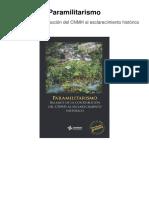 Balance Paramilitarismo Accesible