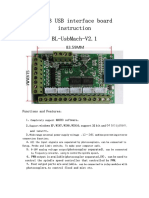 USB MACH3 Interface Board BL-UsbMACH-V2.1 Instruction