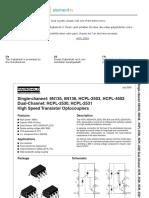 High Speed Transistor Optocouplers - HP2530