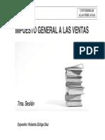 07. Impuesto General a Las Ventas - UAP Tributación