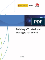 Building a Trusted and Managed Iot World En