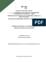 Sindicalismo Rural na construção do Sistema Único de Saúde (1960-1980).pdf