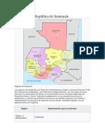 Datos Geográficos de Guatamala