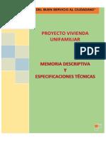 Memoria Descriptiva 2018-2