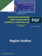 Recorrido Visual  Análisis de Contexto CEAAL EFPyAl 2018