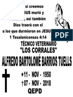 Alfredo Barlotomé