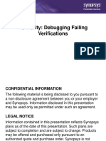 Formality Debugging Failing Verifications Presentation