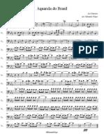 Aquarela Do Brasil Eb Cello I