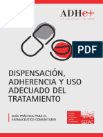 Dispensación y adherencia