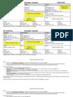 december calendar 18-19 ap stats pdf