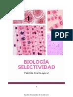 Biología SELECTIVIDAD