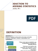1. Introduction to Engineering Statistics