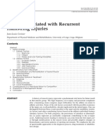 Factors Associated With Recurrent Hamstring Injuries