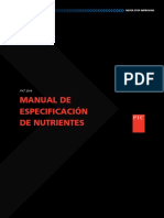 2016 Nutrient Specifications Manual Spanish