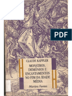 Monstros, Demônios e Encantamentos no fim da Idade Média