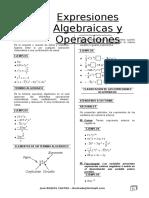 Álgebra Nº 1