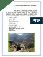 Morfologia del Perú